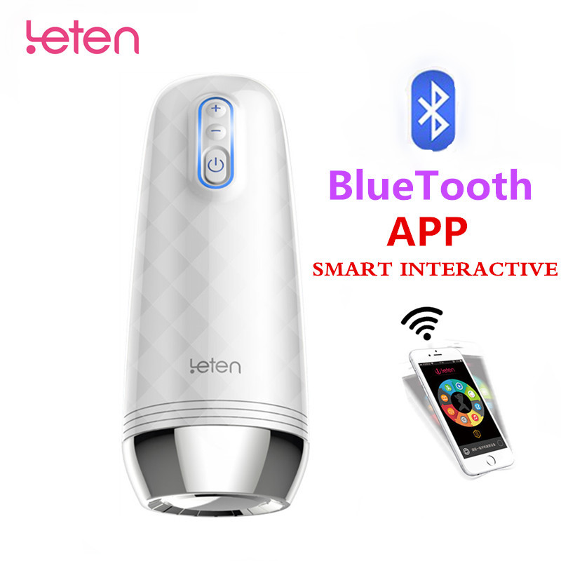 Leten Z9 Automatic Male Masturbator Bluetooth Intelligent APP Interactive Masturbation Cup Vibration Vagina Sex Toys for Men