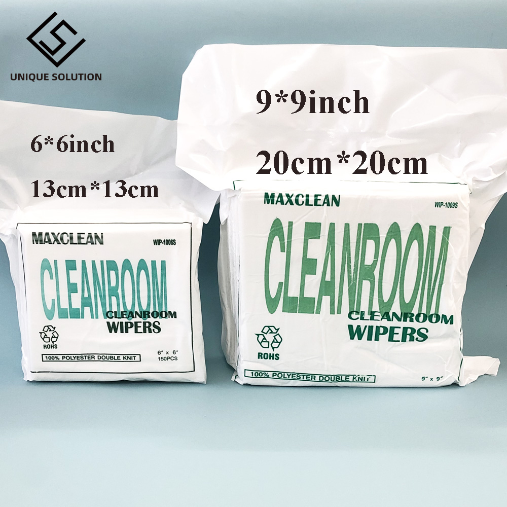 6inch 6inch 9 inch 9 inch cleanroom wiper Cleaning Tissue stencil wiping non dust cloth clean for all large format printer print