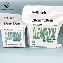 6inch 6inch 9 inch 9 inch cleanroom wiper Cleaning Tissue stencil wiping non dust cloth clean