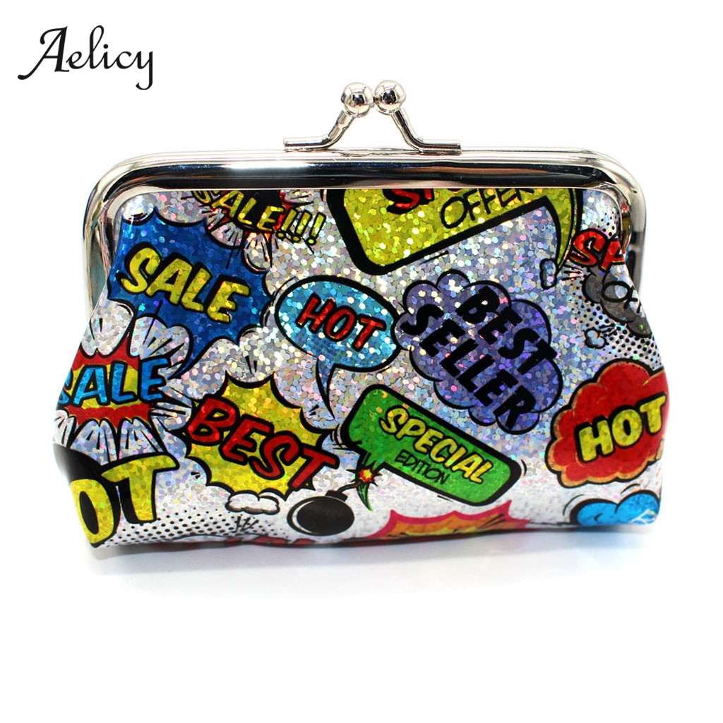 Aelicy Coin Purses Wallets Card-Pouch Pocket Key-Holder Money-Bags Change Small Women's title=