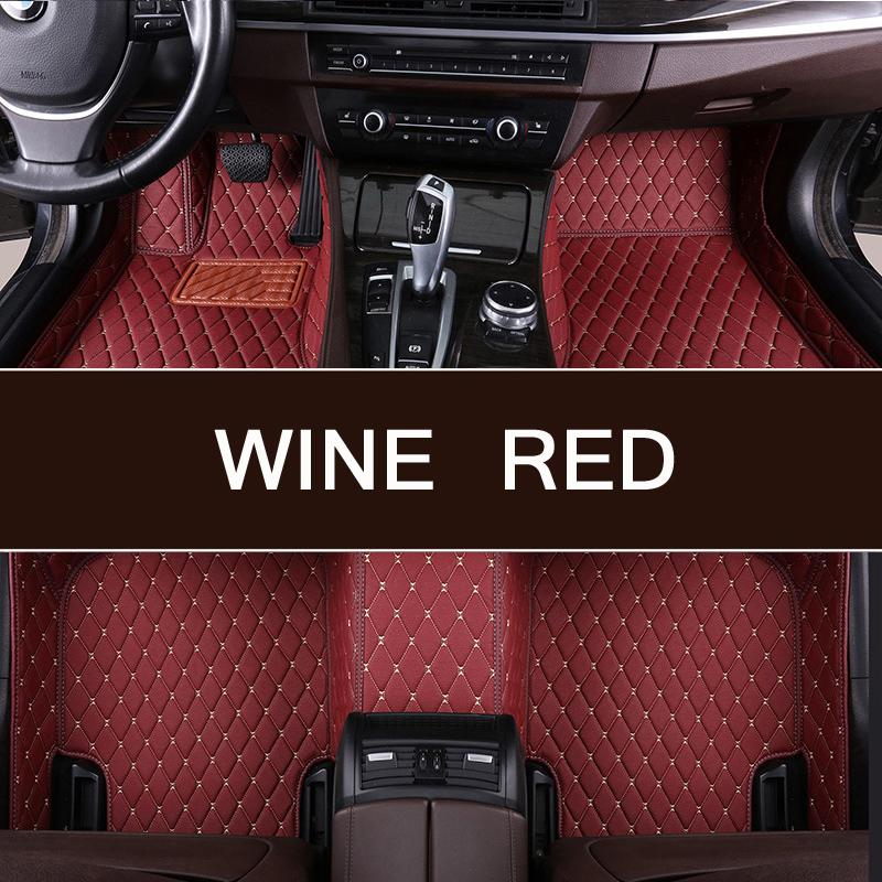 Новейшее поступление на заказ автомобильный коврик для ног для Ford Ecosport Escape Expedition Kuga и т. д. водонепроницаемый ковер автомобильные аксессуар
