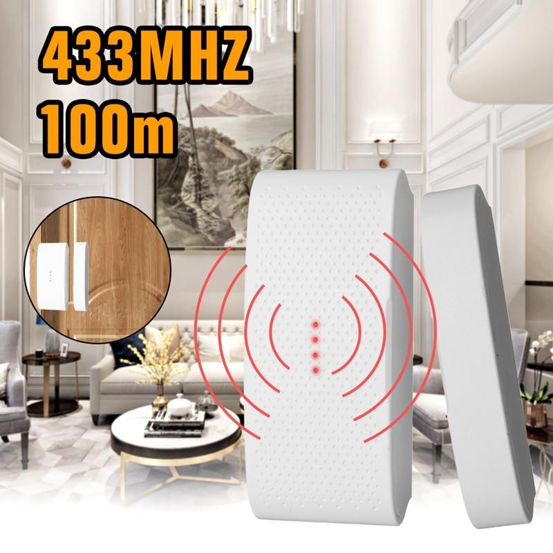 433 Mhz Wireless Windows Doors Sensor Infrared Alarm Detector Home Security Alarm System Kits GSM Detector