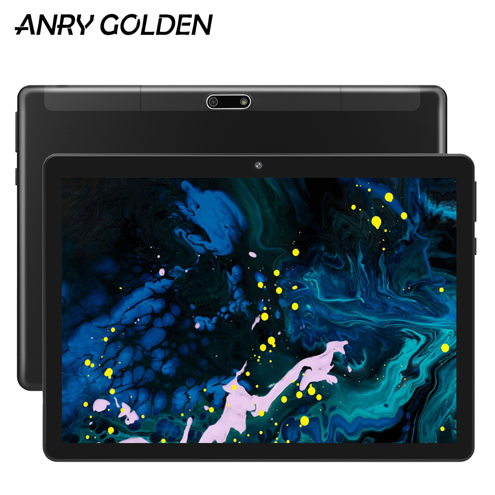 2020 ANRY RS10 Quad Core 1GB 16GB Android 7.0 10 Tablets 10.1 Inch IPS Screen Full Metal Tablet PC Wifi GPS Suppport