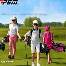 3-12 idade meninos meninas crianças clube de golfe conjuntos completos presente crianças júnior escola prática aprendizagem carbono balanço putter saco motorista ferro