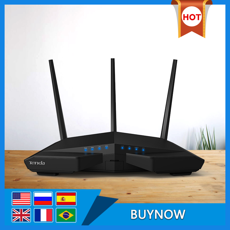 Tenda AC18 Wireless Wifi Router,AC1900Mbps WIFI Repeater Dual Band 2.4GHz/5GHz With USB3.0 802.11ac Remote Control APP L2TP PPTP