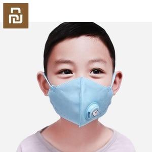 Image 4 - Youpin Kid PM2.5 Dust Mask Childrens Breathing Valve Anti fog Breathable Anti Fog Mask PM2.5 Dust Mask