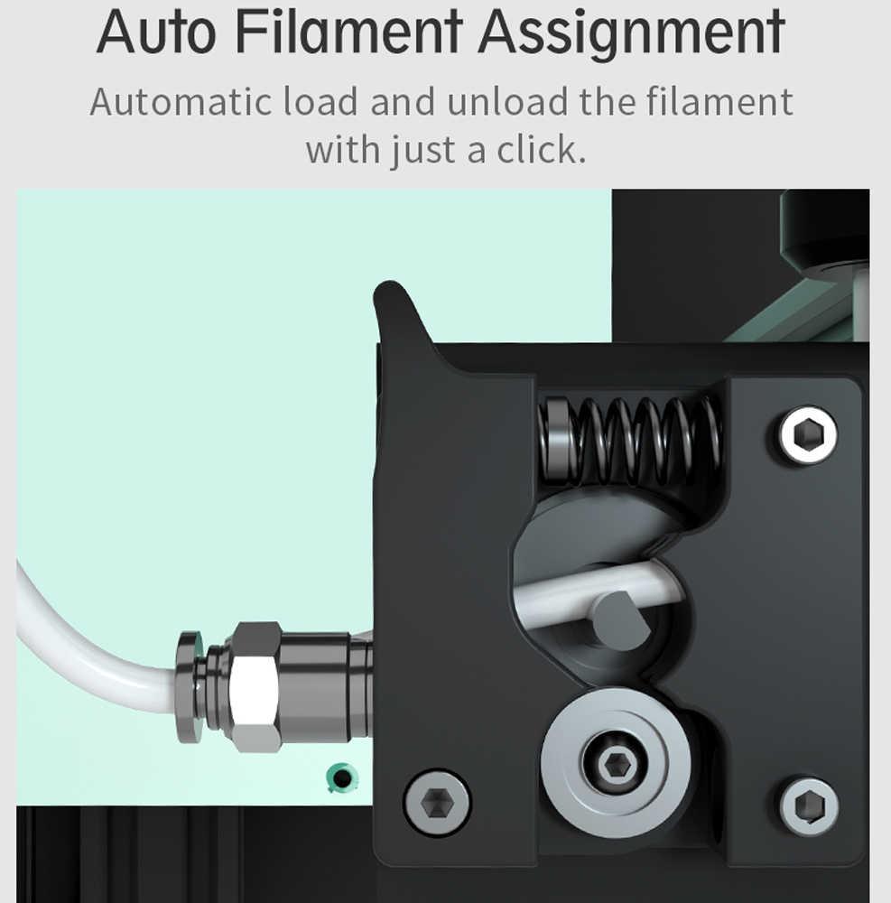 Impresora 3D Anet ET4 Pro Ultra silenciosa todo el Metal de la impresora Auto-nivelación con TMC2208 controlador paso a paso soporte código abierto Marlin