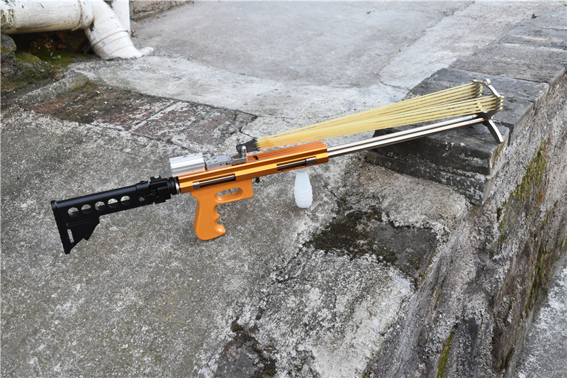 WK12 Folding Mechanical Slingshot Rifle
