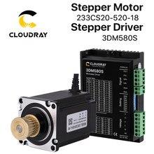Cloudray 23 Nema Do Motor de Passo Fase Stepper Motor Driver Kit 3 1.0N.m/2.0N.m com ENGRENAGEM para CNC Router Gravura fresadora