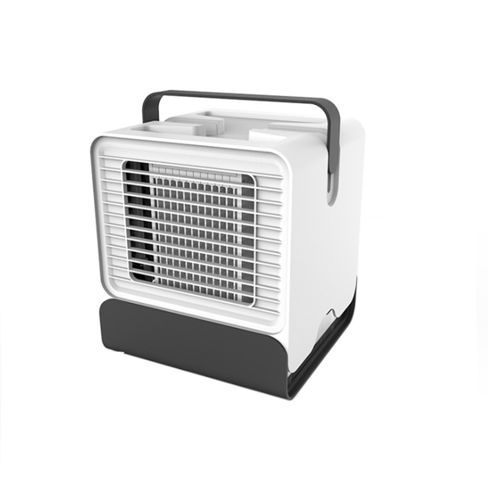 Negative Ion Mini Portable Durable Refrigeration Cooler USB Rechargeable ABS Desktop Home Low Noise Office Air Conditioner Fan
