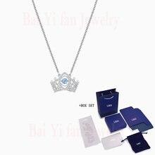 Модные swa new bee королева кулон ожерелье элегантные Вибрационный