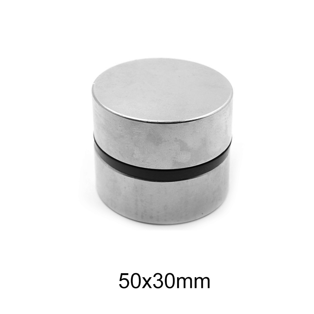 1PC <font><b>50x30</b></font> MM Thick Big Round NdFeB magnets 50mm X 30mm Neodymium Magnet Disc 50x30mm N35 Permanent Magnet Strong 50*30 mm image