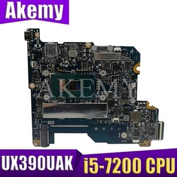 UX390UAK i5-7200CPU Mainboard REV1.2 For ASUS UX390 UX390U UX390UA UX390UAK Laptop motherboard UX390UAK Motherboard Test OK