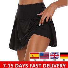Skirt Skorts Tennis Short Yoga Fitness Women Plus-Size Anti-Exposure Quick-Drying S-5XL