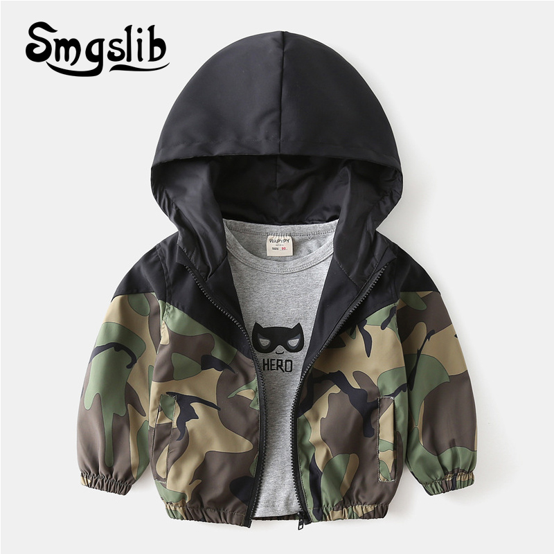2021 Spring Autumn Toddler Kids Clothing for boys jackets Children's clothing Hooded thin Jacket for girls Coat Outwear tops