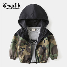 Clothing Outwear Hooded Girls Coat Spring Toddler Autumn Kids Children's Boys for Jackets