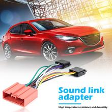 Adaptor Plug-Cable Wire-Harness for Mazda Ford/Car-stereo-radio/Iso Standard-Connector-Adapter