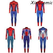 Spider Man Peter Parker Cosplay Costume Zentai Spiderman Sup