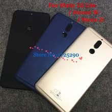 Arka arka pil kapı kasa Metal konut kapak için Huawei Mate 10 lite Nova 2i RNE L01 L21 L22 L23 RNE AL00