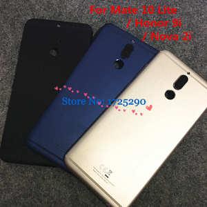 Image 1 - Rear Back Battery Door Case Metal Housing Cover For Huawei Mate 10 lite Nova 2i RNE L01 L21 L22 L23 RNE AL00