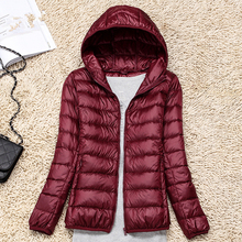 Women Down Coats Fashion Korean Woman Coat Jacket Winter Thick Padded Hooded Plus Size
