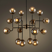 Postmodern LED chandelier lighting Nordic Novelty deco fixtures living room suspension luminaire restaurant bedroom hanging lamp
