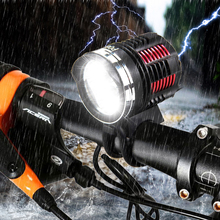 3x CREE XM-L2 LED 7000Lm Front Bike Bicycle HeadLamp Headlight Light+12000mAh Battery+AC Charger+Headband+Led Taillight
