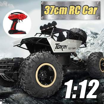 37cm Large 4WD RC Cars Updated Version 2.4G Radio Control RC Cars Toys Buggy~High speed Trucks Off-Road Trucks Toys for Children