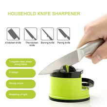 New Knife Sharpener Mini Household Kitchen Easy and Safe Practical Durable High Quality Suction Cup Innovate Sharpening Tool