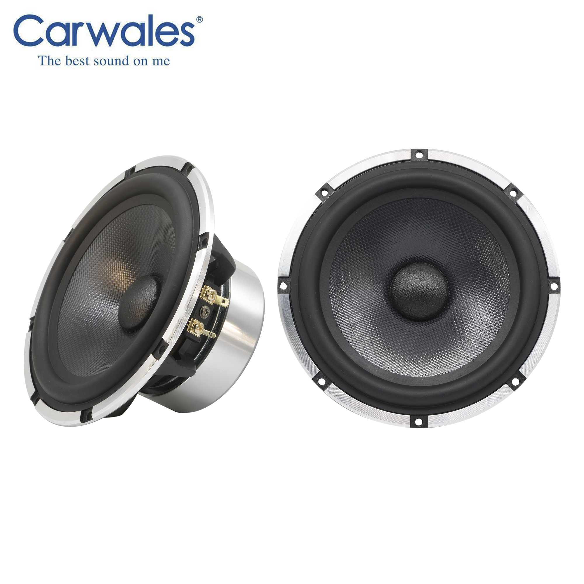 """Image 2 - Lossless Installation 6.5"""" 3 way Car Sound System 3.5 """" Midrange Treble Full Frequency Component Speakers Kit Subwoofer for CarSpeakers Sets   -"""
