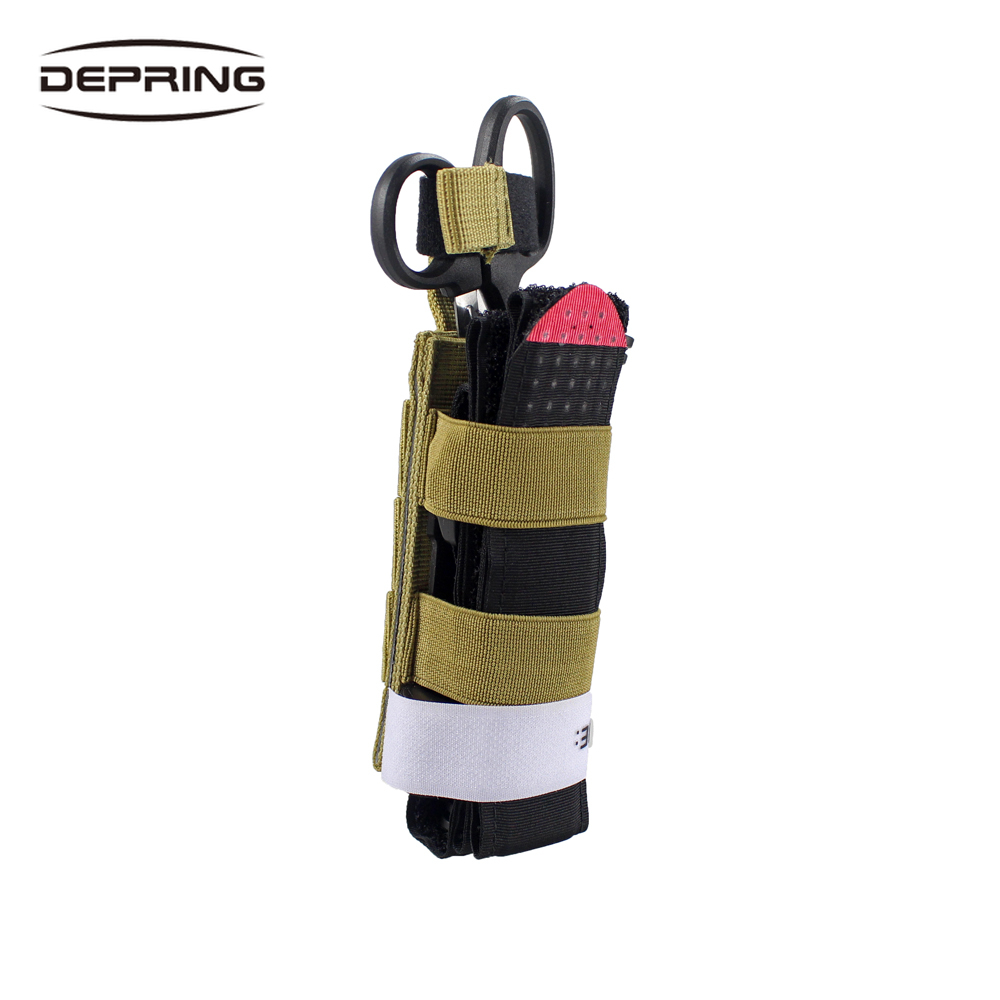 Outdoor Utility EDC Pouch Emergency Medical Bag Tourniquet Holder Storage Bag Multifunction Portable Hiking Camping Bag