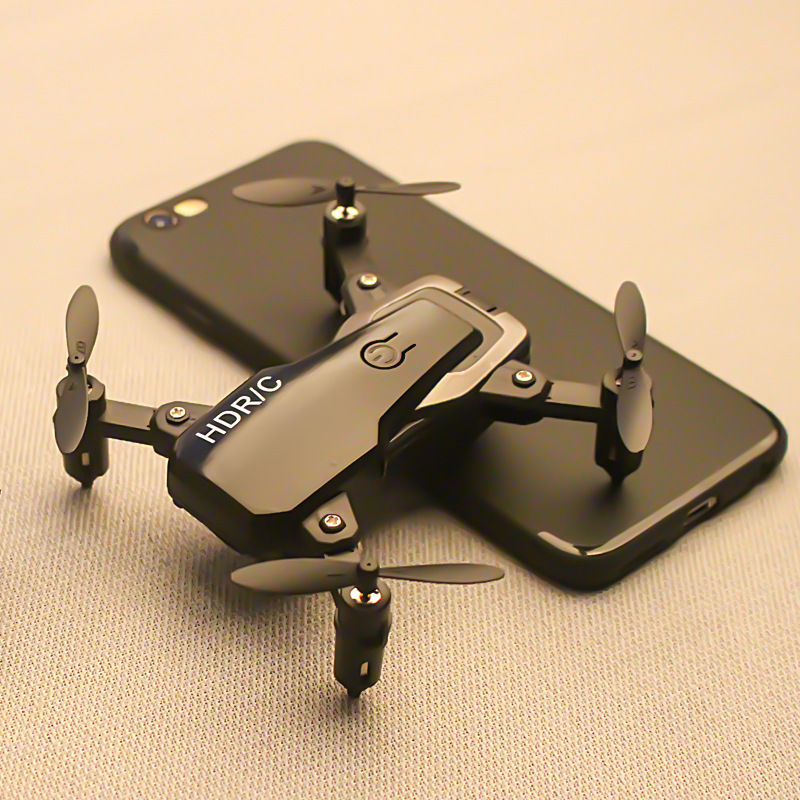 A Key Return Mini Folding Quadcopter Pressure Set High Unmanned Aerial Photographic Vehicle