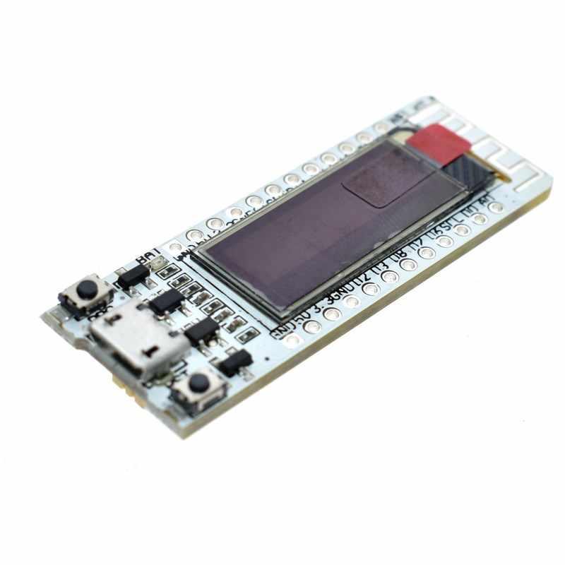 ESP8266 ชิปWIFI 0.91 นิ้วOLED CP2014 32Mb Flash ESP 8266 โมดูลInternet Of Things PCBสำหรับNodeMcu