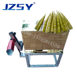 Wholesale price small commercial manual fresh bamboo shoot shelling peeling machine/hand bamboo sprout skin removing machine