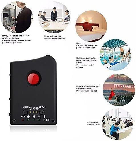 Detector de señal RF, Detector de cámara espía Upgrate, rango completo, inalámbrico, Anti-espía, Detector de micrófonos GSM, dispositivo de seguimiento GPS, Finder FNR Full Dispositivo de crecimiento más grande del pene extensor de aumento del pene