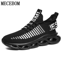 Men Sneakers Cushioning Running-Shoes Lightweight Black Breathable Big-Size New 39-46