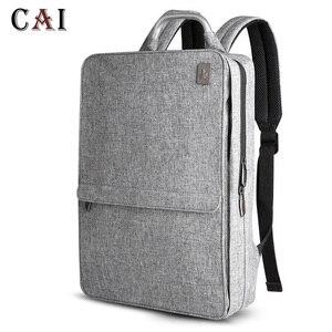 Image 3 - 2019 New Fashion Slim Laptop Waterproof 14 inch Laptop Backpack Women/Men Backpacks Travel Backpack bag men mini bookbag mochila