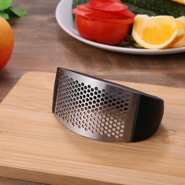 Multi-fonction manuel en acier inoxydable ail Presses broyeur trancheuse Cutter multi-fonction cuisine fruits et légumes outils 2
