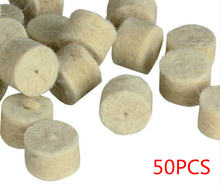 50 шт/упак 1 упаковка круглая полировальная машина фетровая
