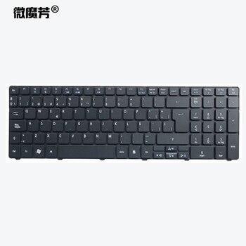 Español teclado del ordenador portátil para Acer para Aspire 5740 5810T 7735 de 7551 p5we0 5336, 5410, 5536, 5536G 5738g 5738G 5810G 5252 a 5742g 5742Z SP
