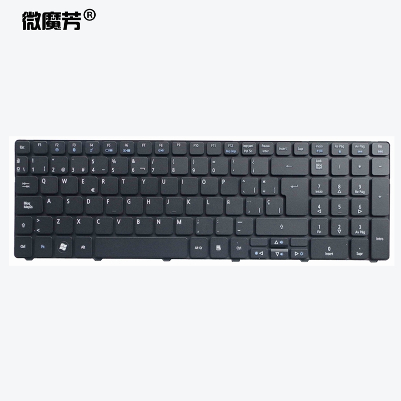 Spanish Laptop Keyboard For Acer For Aspire 5740 5810T 7735 7551 P5we0 5336 5410 5536 5536G 5738 5738g 5810 5252 5742G 5742Z SP
