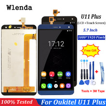 For Oukitel U11 Plus LCD Display+Touch Screen Assembly Repair Parts Replacement Accessories For oukitel u11 plus lcd+free tools(China)