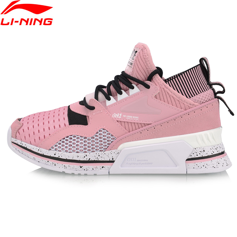 (Break Code)Li-Ning Women 001 SHAKE Lifestyle Shoes Mono Yarn Dad Shoes Retro LiNing Li Ning Sport Shoes Sneakers AGLP012 YXB262