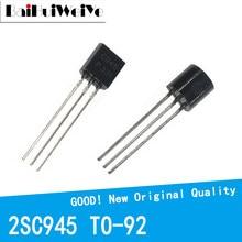100PCS/LOT 2SC945 C945 945 NPN TO-92 TO92 Triode Transistor 0.15A/50V NPN New Original Good Quality Chipset