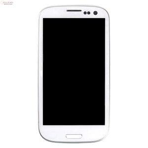 Image 2 - Catteny I9301 I9305จอแสดงผลLcdสำหรับSamsung Galaxy S3 Lcd I9300จอแสดงผลที่มีหน้าจอสัมผัสDigitizerสมัชชา + กรอบ + Homebutton