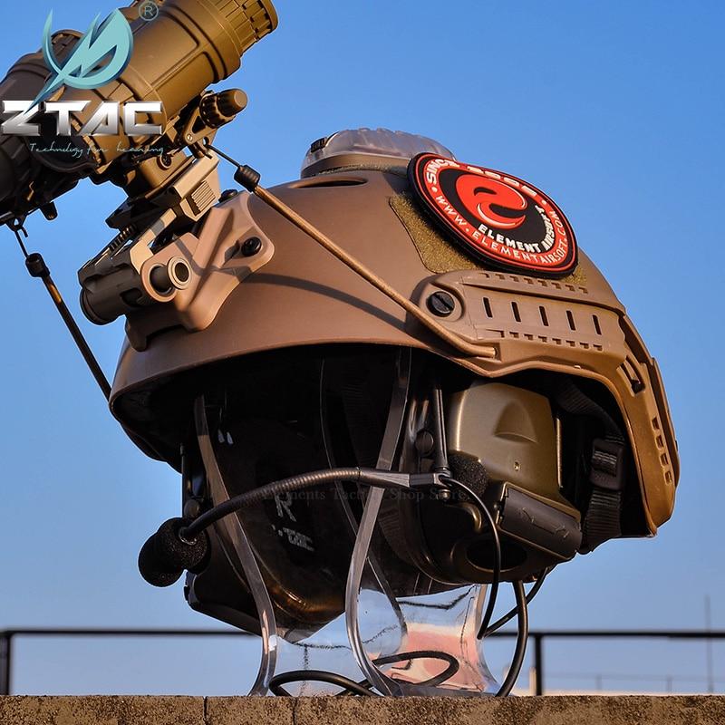 Тактическая гарнитура Z TAC для охоты Comtac II 6th Circuit Board 2020 версия 2 режима шумоподавление тактическая гарнитура Softair-5