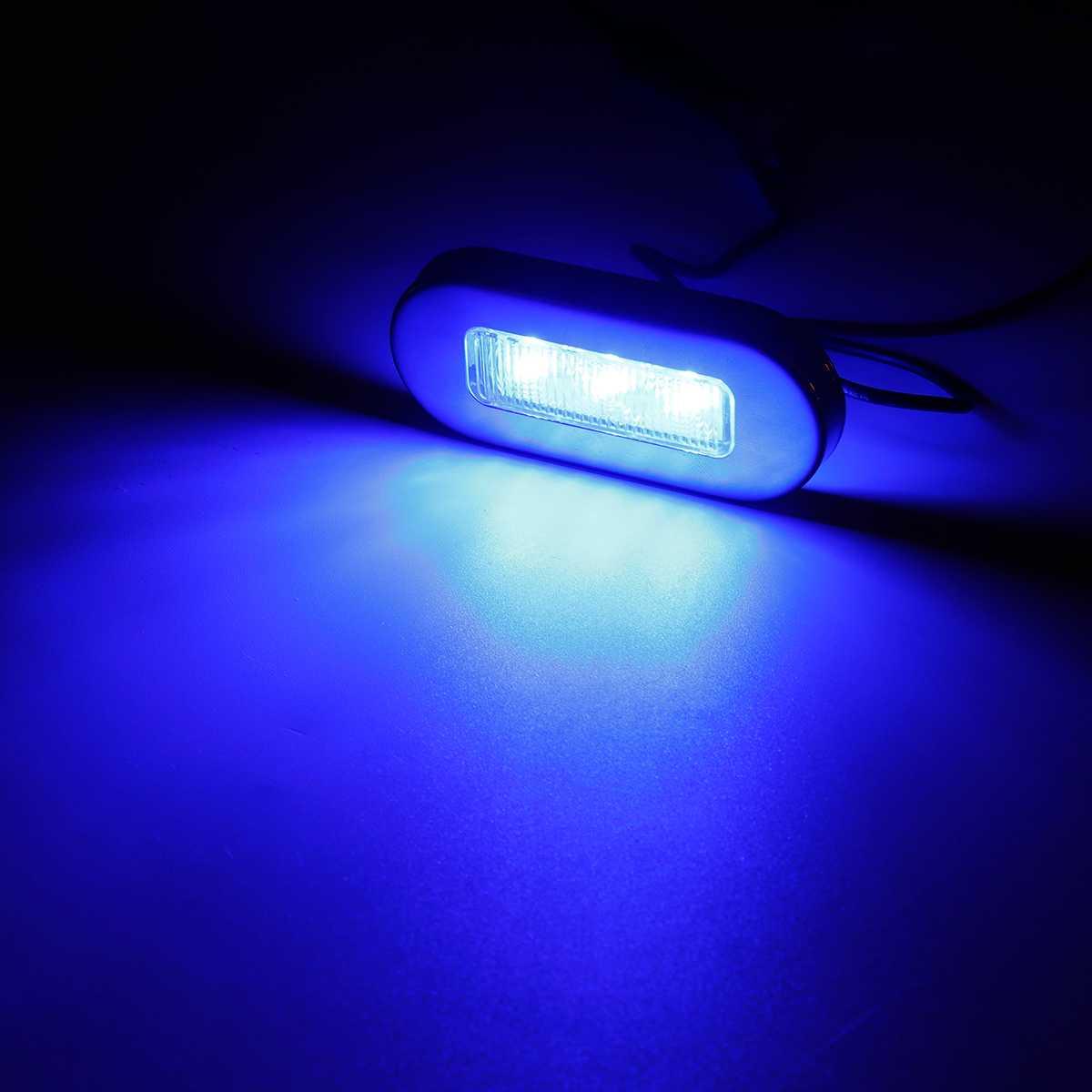 deck lado marcador luz de cortesia luzes