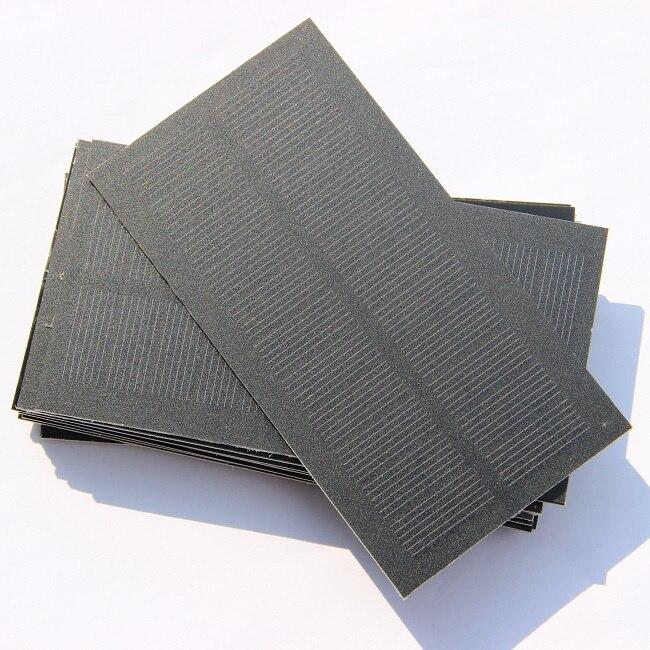 Monocristallicon 0.8W 5.5V Mini cellule solaire Module solaire petit panneau solaire pour chargeur de batterie 25 pcs/lot livraison gratuite-in Cellules photovoltaïques from Electronique    1