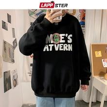 Harajuku Hoodies Sweatshirts Japanese Streetwear LAPPSTER Autumn Mens Fashions Couple
