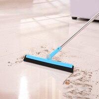 Limpiador de suelo de cocina, mopa, escurridor húmedo, mango largo, limpiaparabrisas, Material EVA, fácil de barrer
